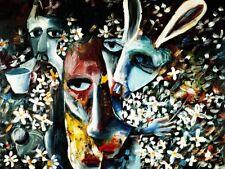 Charles BLACKMAN 'Metamorphosis' LIMITED EDITION PRINT + COA Alice in Wonderland
