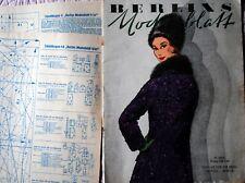 Praktische mode .mode magazin  1962 mit schnittmuster