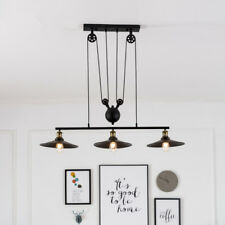 Vintage Pendant Light Kitchen Ceiling Lights Bar Lamp Large Chandelier Lighting
