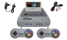 Super Nintendo SNES Konsole komplett + 2 x Controller + Super Mario World Spiel