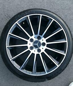 18'' Mercedes AMG Alloy Wheels (A-Class B-Class C-Class) Black/Polished USED