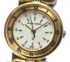 Authentic Philippe Charriol CELTIC White dial Quartz Ladies wrist watch_308856