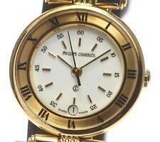 Authentic Philippe Charriol CELTIC White dial Quartz Ladies wrist watch_308856