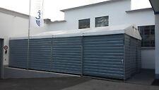 Lagerhalle Trapezblechhalle Lagerzelt 6x12m / 1x Schiebetor