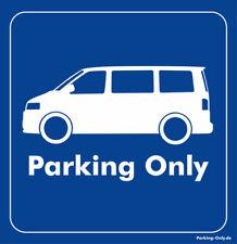 Parking Only - VW T5 - Aufkleber