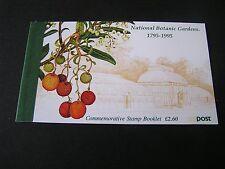 IRELAND, SCOTT # 983a-982a(7),BOOKLET OF 7 1995 NATIONAL BOTANIC GARDENS MNH