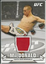 Rory MacDonald 2013 Topps UFC Knockout Fighter Relics Card # KRRM 106/188