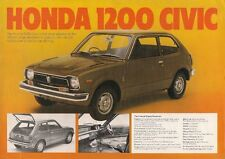 Honda 1973-74 UK Market Leaflet Sales Brochure N600 Coupe Z Civic