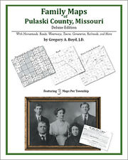 Family Maps Pulaski County, Missouri Genealogy MO Plat