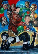 Original Art Large Oil painting Cuban Artist Cuba FERNANDO GODERICH FABARS 20