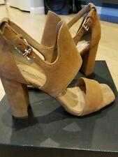 "Banana Republic - Tan Suede Block heeled Sandal ""Blyss""- size 5"