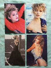 MADONNA LOT 4 VIRGIN TOUR book postcards postcard Angel Material Girl 1985
