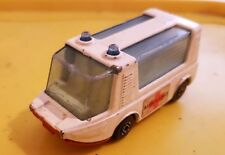 Vintage Ambulance - Matchbox - Stretcha Betcha - 1971 - Great Con - Used
