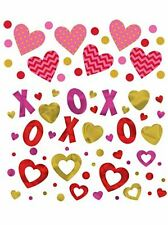 34g of Valentines Confetti with dots, X, O and love hearts