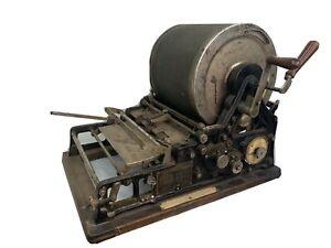 Vintage EDISON 1900s AB Dick Mimeograph No 78 Copy Machine - Amazing Antique