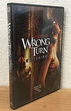 WRONG TURN 3: LEFT FOR DEAD (DVD, 2009) UNRATED ~ WIDESCREEN ~ REGION 1