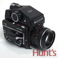 Mamiya M645 1000S Medium Format Film Camera w/80mm f2.8 Lens * Sold As Is *