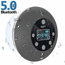 5.0 Shower Radio Bluetooth Speaker Wireless Bathroom Music with Suction Cup