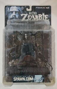 McFarlane Toys Rob Zombie Super Stage Action Figure Mint on Unopened NM card