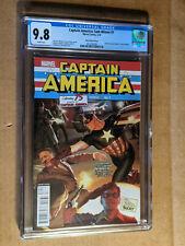 Sam Wilson Captain America #7 1:100 Alex Ross #1 Homage Variant  CGC 9.8 NM+/M