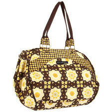 NEW! FREE SHIP! Petunia Pickle Bottom Wistful Weekender Tote- Blissful Buttercup