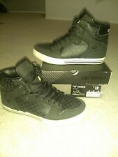 Men's SUPRA Tuf Vaider Shoes Black Size 10