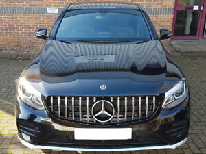 AMG GLC63 Panamericana Grille Models with 360 camera MODELS UNTIL JULY 2019