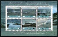 Tonga 2013 Blow Holes Fontänen Meer Block Postfrisch MNH