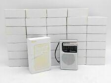 Lot of 35 Open Box Vondior VX-W AM FM Battery Operated Pocket Radio -NR1772