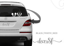 Mickey Mouse Car Vinyl Sticker, Car Bumper, Window, 21 cm size - Car stickers