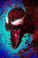 🚨🔥🕸 VENOM #30 DAVE RAPOZA Exclusive Virgin Variant Knull King In Black NM
