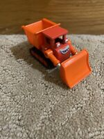 """2004 Muck 3"""" Red Bulldozer Diecast Vehicle Figure Learning Curve Bob The Builder"""