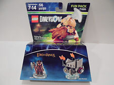 Lego Dimensions Lord Of The Rings Gemli Axe Chariot 3 In 1 Building Toy 56 Pcs