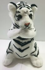"White Tiger Plush 15"" Stuffed Animal"