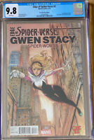 EDGE OF SPIDER-VERSE #2 CGC 9.8 COMIC BUG COLOR VARIANT MARVEL (2015) NM+