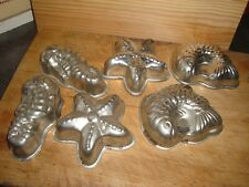 Kitchenalia: Six Vintage Seafood Themed Moulds
