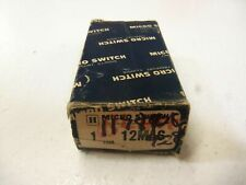 MICROSWITCH ACTUATOR SWITCH 12MA6 *NEW IN BOX*