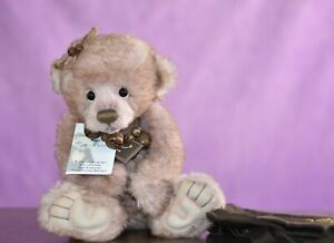 Charlie Bears Hetty  Limited Edition Retired Tagged Isabelle Lee Designed