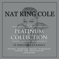Nat King Cole PLATINUM COLLECTION Best Of 75 Classic Songs ESSENTIAL New 3 CD