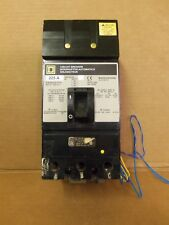 Square D Ka 3 pole 225 amp 600v Ka362251212 Circuit Breaker Ka36225-1212 Aux