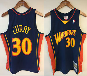 Stephen Curry Golden State Warriors Mitchell & Ness NBA Rookie Authentic Jersey
