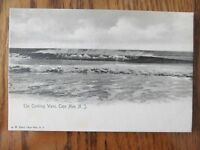 Vintage Postcard The Combing Wave At Cape May New Jersey NJ