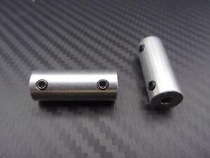 Wellenkupplung starr von 2mm - 6mm, verschiedene Varianten