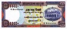 Bangladesh 1983-2000 billet neuf de 100 taka pick 31c signature 2UNC