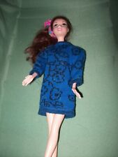 Barbie clothes.vintage long sleeve dress