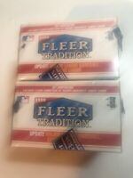 (2) 1999 Fleer Tradition Baseball Update Factory Sealed Sets - 150 Cards Each