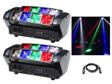 2 x Equinox Onyx LED RGBW Beam Effect Light DJ Disco Lighting DMX