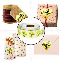Round Kraft Paper Label Seal Adhesive Handmade Sticker Packaging Tag Decor Z5C3