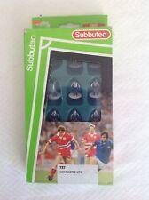 Vintage Old Subbuteo Football Figure Team 727 Newcastle Utd 630000