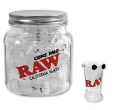 "RAW Rolling papers ""CONE BRO"" Glass Tip Cigarette Holder Fits Pre or Hand Rolled"